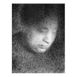 Seurat s mother by Georges Seurat Postcard