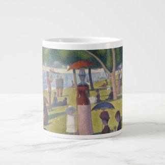 Seurat Sunday Afternoon Island of La Grande Jatte Large Coffee Mug