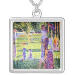 Seurat: The Couple Necklace