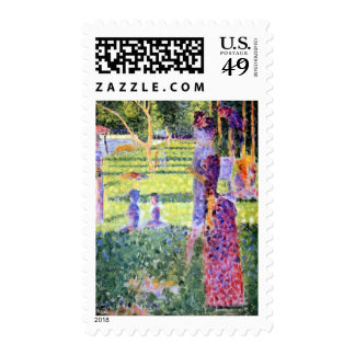 Seurat: The Couple Postage Stamps