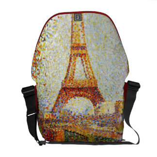 Seurat: The Eiffel Tower Commuter Bags