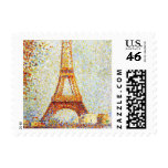 Seurat: The Eiffel Tower Postage Stamps