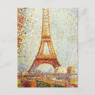 Seurat: The Eiffel Tower