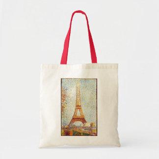 Seurat: The Eiffel Tower Tote Bag