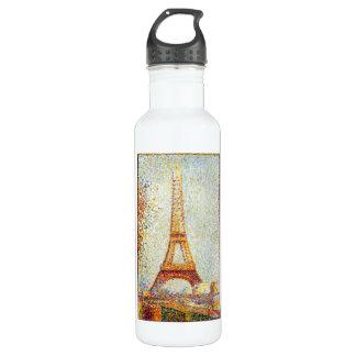 Seurat: The Eiffel Tower Water Bottle