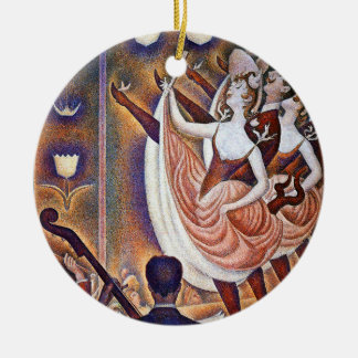 Seurat: The Great Appearance Ceramic Ornament