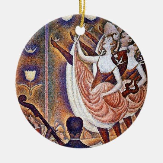 Seurat: The Great Appearance Ceramic Ornament