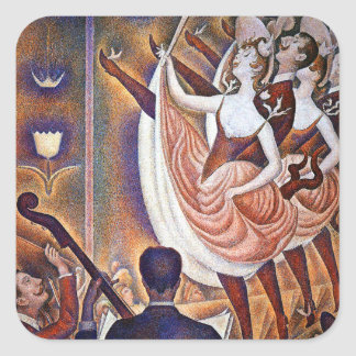 Seurat: The Great Appearance Square Sticker