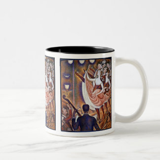 Seurat: The Great Appearance Two-Tone Coffee Mug