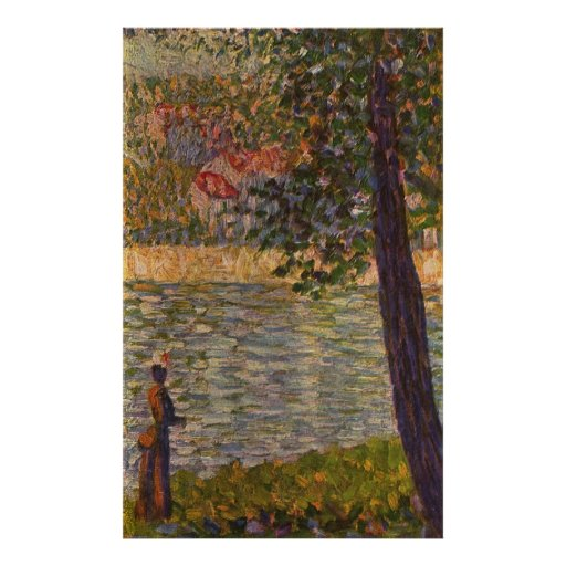 Seurat: The Morning Walk (The Seine at Courbevoie) Print