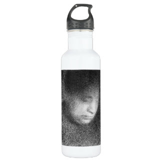 Seurat's mother by Georges Seurat 24oz Water Bottle