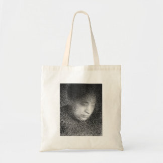 Seurat's mother by Georges Seurat Tote Bags