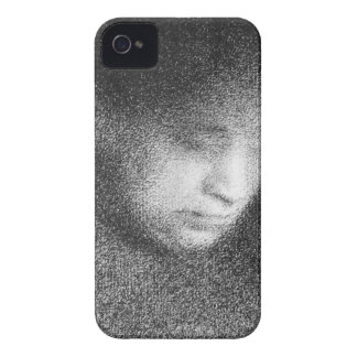 Seurat's mother by Georges Seurat iPhone 4 Case