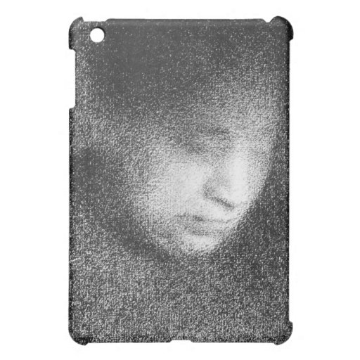 Seurat's mother by Georges Seurat iPad Mini Cover