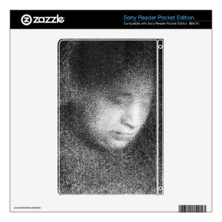 Seurat's mother by Georges Seurat Sony Reader Skins
