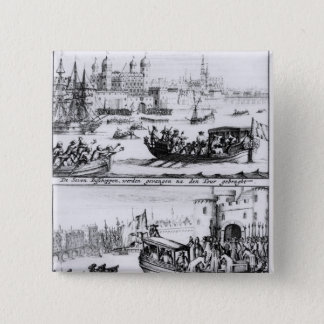 Seven Bishops Go to the Tower, 1688 Pinback Button