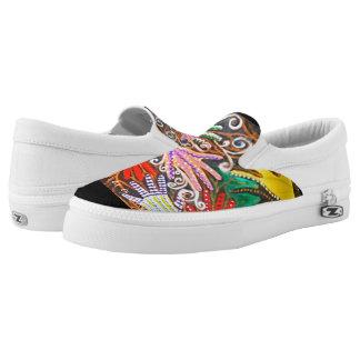 Seven Butterflies Slip-In Printed Shoes