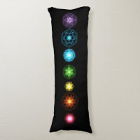 Seven Chakras Body Pillow