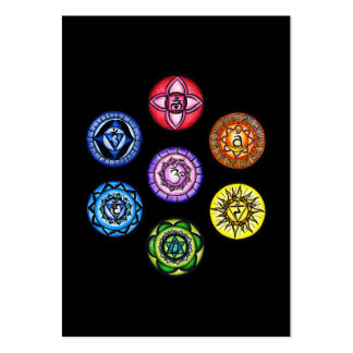 Seven Chakras Business Card