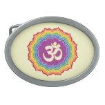 Seven Chakras Colors Belt Buckles