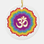 Seven Chakras Colors Christmas Tree Ornaments