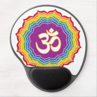 Seven Chakras Colors Gel Mouse Pad