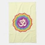 Seven Chakras Colors Hand Towel