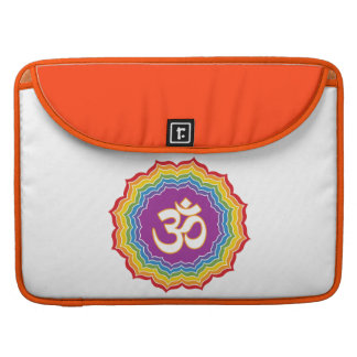 Seven Chakras Colors Sleeve For MacBook Pro