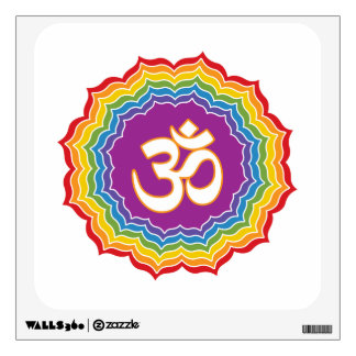 Seven Chakras Colors Wall Decal