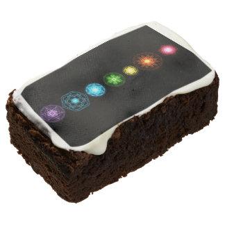 Seven Chakras Desserts Brownie