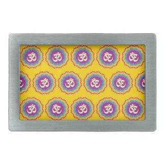 Seven Chakras pattern Belt Buckle