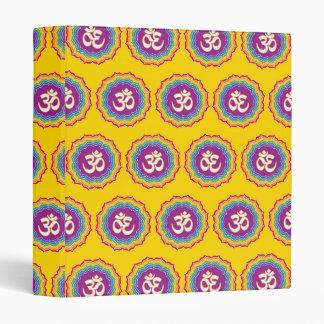 Seven Chakras pattern Binder