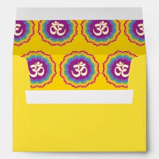 Seven Chakras pattern Envelopes