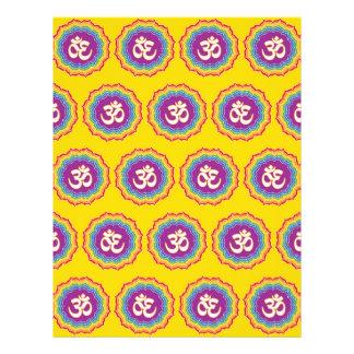 Seven Chakras pattern Personalized Flyer