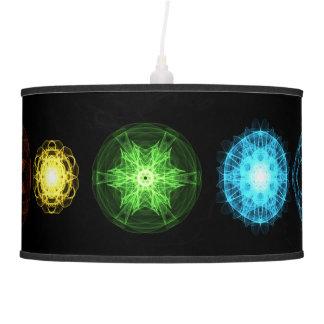 Seven Chakras Pendant Lamp