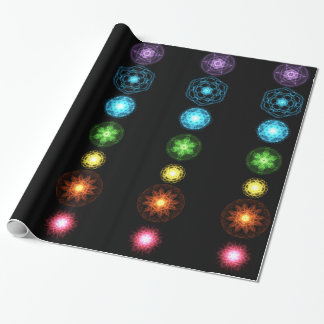 Seven Chakras Wrapping Paper