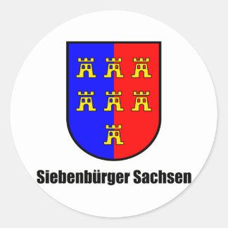 Seven-citizen Saxonia Sticker