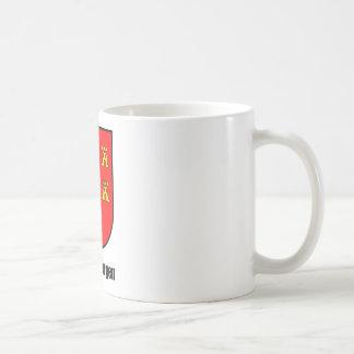 "Seven-citizen Saxonia ""Transylvania "" Coffee Mug"