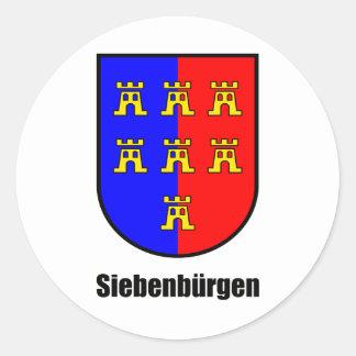 """Seven-citizen Saxonia """"Transylvania """" Stickers"""