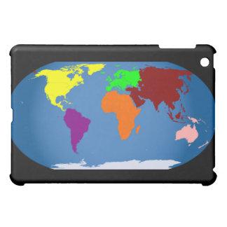 Seven Continents Colored Case For The iPad Mini