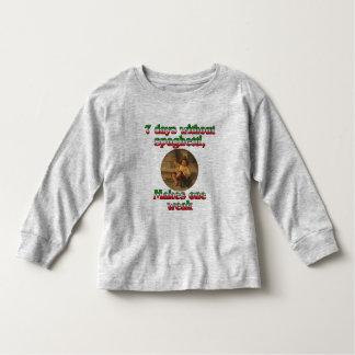 Seven Days Without Spaghetti Shirt