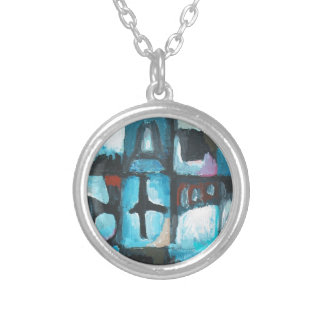 Seven Deadly Sins ( abstract symbolism art) Necklace