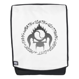 Seven deadly sins Adult Backpack