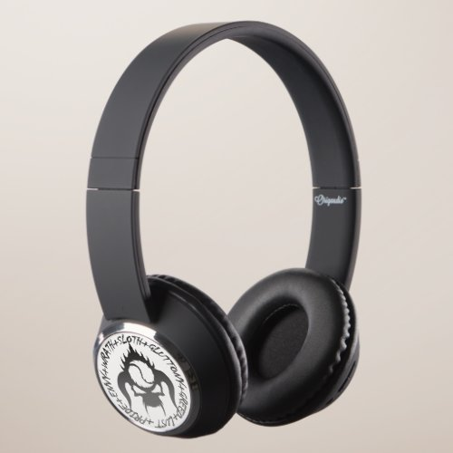 Seven deadly sins Beebop Bluetooth Headphones