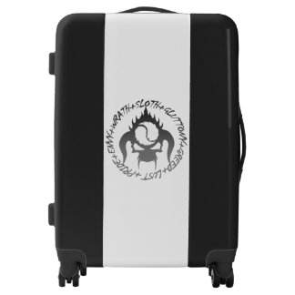 Seven deadly sins carry-on luggage