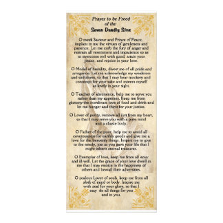 Seven Deadly Sins Rack Card