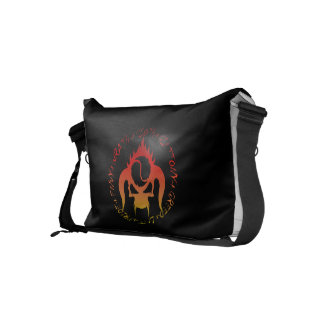 Seven deadly sins small Messenger Bag