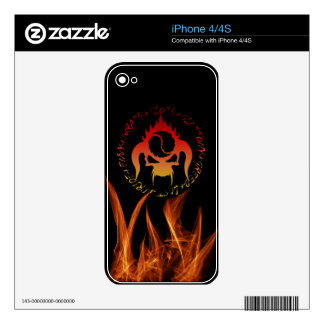 Seven deadly sins Vinyl Device Protection Skin Skins For The iPhone 4