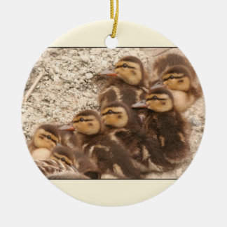 Seven Ducklings Ornament