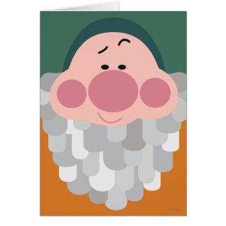Seven Dwarfs - Bashful Character Body Card